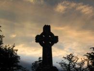 Croce Celtica. Knock, Contea di Mayo, Irlanda
