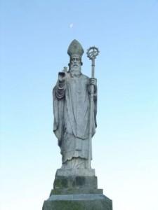 San Patrizio. Tara, Contea di Meath, Irlanda.