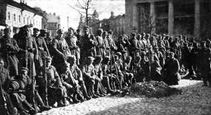Soldati polacchi a Vilnius nel 1920.
